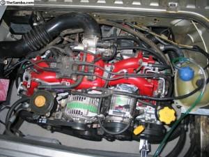 Subaru EJ25 Motor, Lookin Good!