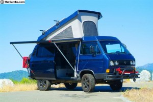 Front view of this beautiful 1991 VW Westfalia SVX