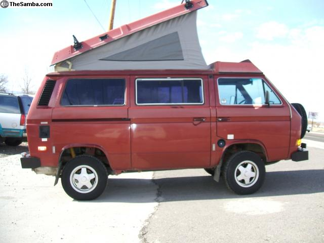 Adventure Subaru Ohio >> 1987 VW Westfalia Syncro Subaru SVX Conversion - Colorado