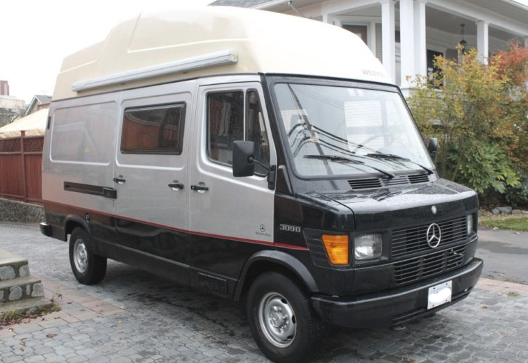 Mercedes Denz Diesel Westfalia For Sale In Canada Front