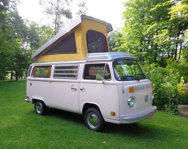 1977 Westfalia Camper, Original With Low Miles