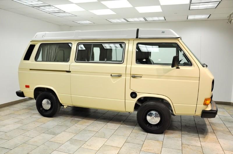 1982 Diesel VW Westfalia Full Camper Low Miles
