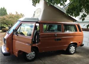 1982 VW Westfalia Full Camper With Only 77k Original Miles For Sale In Portland