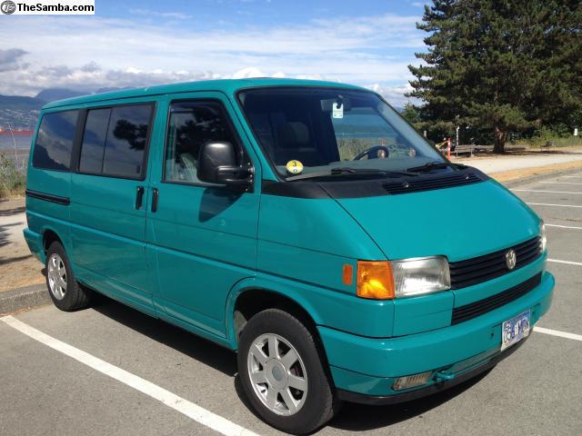 1992 5 speed diesel eurovan in canada