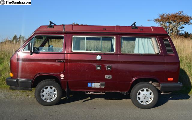1991 VW Vanagon Synrco Westfalia Full Camper For $22,500 in BC