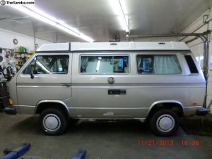 1987 Westy Syncro w/ 187k miles for $16k