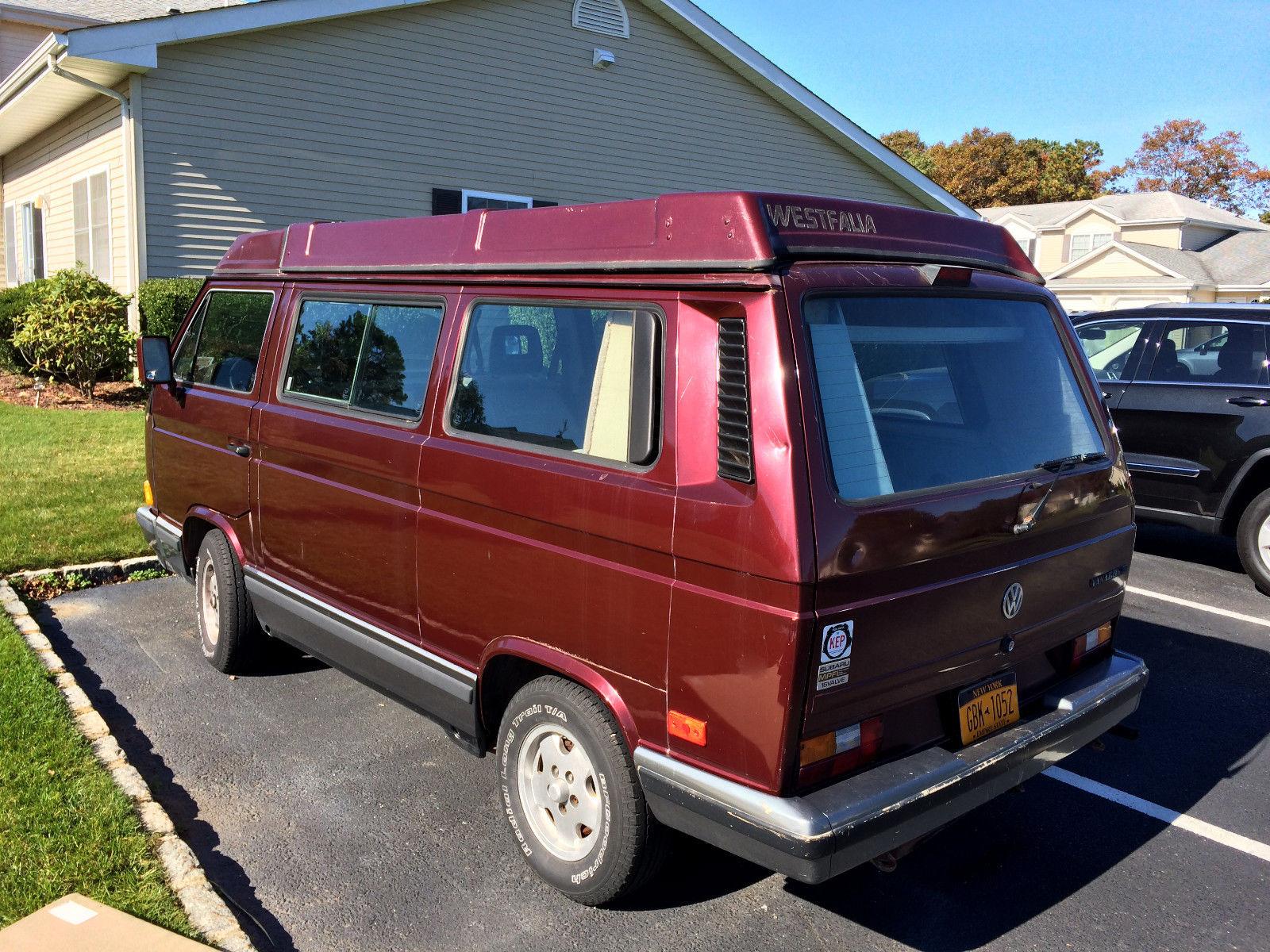 1988 Westfalia Full Camper w/ Subaru 2.2 - $9,500