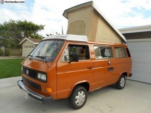 1984 VW Vanagon Westfalia Full Camper $9,900 in So Cal - 25k miles on rebuilt motor