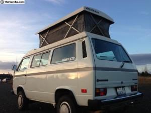 1987 VW Vanagon Syncro Riveria Westfalia $19k in Bellingham, WA