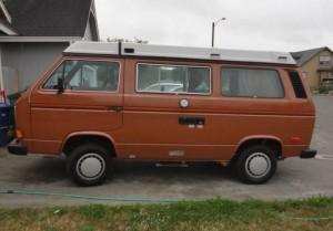 Orange 1984 VW Vanagon Westfalia Camper - $9,500 in Arcata, CA