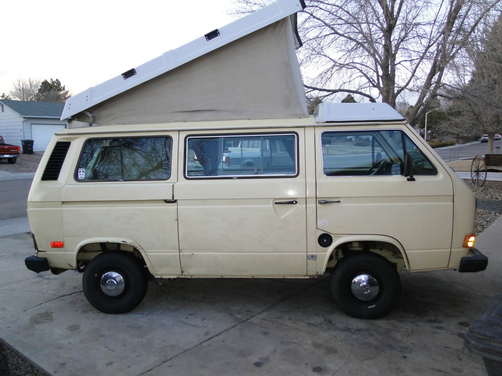 1984 VW Vanagon Westfalia Full Camper Auction In Colorado Springs - Ends February 4th, 2014 at Noon PST