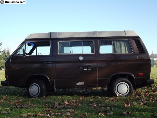 1985 VW Westfalia Camper w/ 100k Miles - $14k in NW Washington