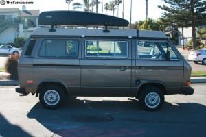 1985 VW Vanagon Westfalia Full Camper w/ 113k Miles For Sale In Encinitas, CA For $14,500