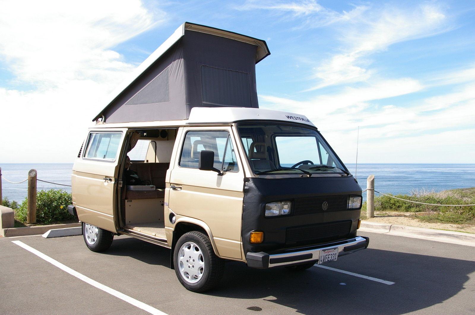1986 VW Westfalia Camper w/ new Subaru 2.2L & new transmission - San Diego, CA - Auction Ends February 7th 8pm PST