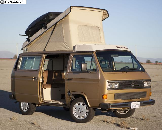 1986 Westy Camper W/ Brand New GoWesty 2.2 Motor - $23,500 in Monterey, CA