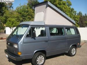 1987 Westy Weekender Wolfsburg - $8,700 in Scotts Valley, CA