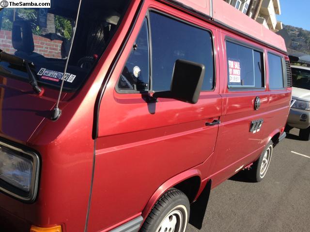 1989 VW Vanagon Westfalia Full Camper Only 38k Miles - $30k in Costa Mesa, CA