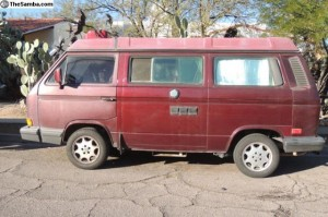 1990 VW Westfalia Full Camper w/ Go Westy 2400cc motor and 5 speed transmission - $16k in Tuscon, AZ