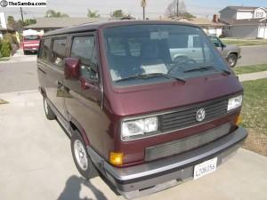 1990 VW Vanagon Carat Weekender - $6,800 in So Cal