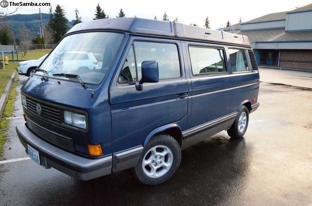 1990 Westy Multivan Weekener w 2.5L Subaru For Sale in WA For $ 10,900