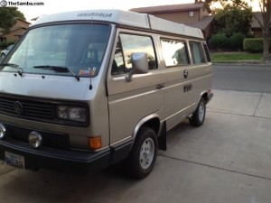 1990 Vanagon Westfalia Full Camper With Auto Trans - $13k In Merced