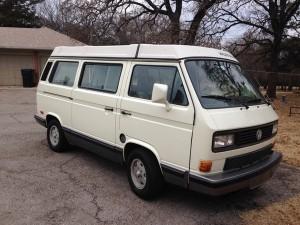 1990 VW Vanagon Westfalia Weekender Auction In Oklahoma