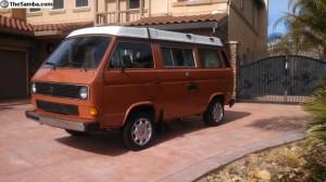 1984 VW Vanagon Westfalia Full Camper - 145k miles - $6,900 in Brentwood, CA