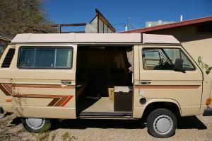 1985 Wolfsburg Weekender Vanagon Westfalia Auction In Arizona - Only 65k Miles