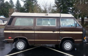 1985 VW Vanagon Westfalia Camper w/ 82k Miles In Vancouver, WA- Auction Ends 2/24/14