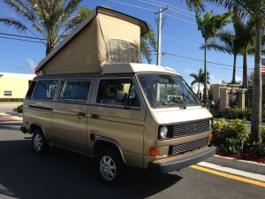 1985 VW Vanagon Westfalia Full Camper Auction In Florida - 150k Miles
