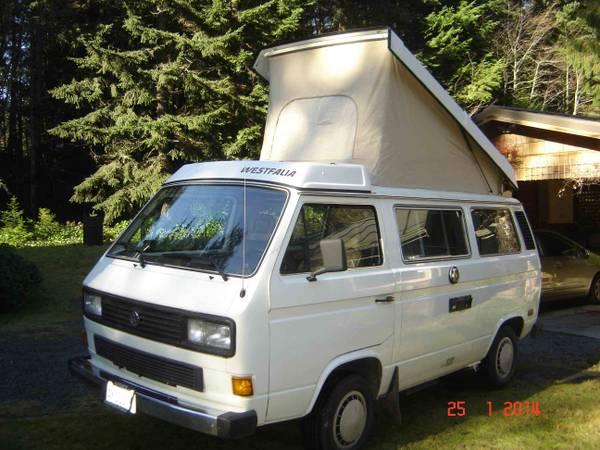 1986 VW Vanagon Westfalia Full Camper - $13,500 in Langely - New Motor!
