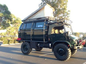 Custom Mercedes Unimog Military Truck - $18,500 In San Diego
