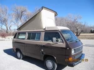 1985 VW Vanagon Westfalia Wolfsburg Weekender w/ Only 88k Miles - $11,500 in New Mexico