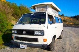 White 1990 VW Vanagon Syncro w/ Country Homes Pop Top - $15k in SF