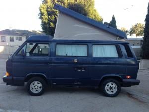 1990 VW Vanagon Westfalia Full Camper Auction In LA - Ends March 17th