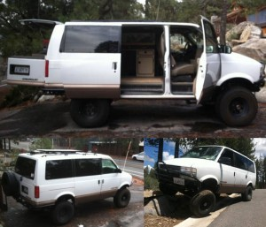 4x4 V8 Astro Van Camper W Westfalia Kitchen 15 000 In
