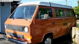 Orange 1984 VW Vanagon Westfalia Camper w/ Fresh Rebuilt Engine & Manual Transmission - $8,900 in Ft. Bragg, CA