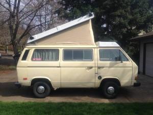 Yellow 1984 VW Vanagon Westfalia Camper w/ 158k Miles - $7,900 in Beaverton, OR