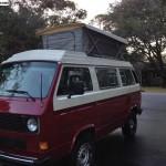 1984 VW Vanagon Country Homes Pop Top Westfalia Kitchen w/ 1.9L Turbo Diesel & 5 Speed - $12,500 in South Carolina