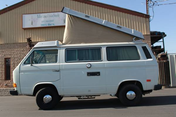 White 1984 VW Vanagon Westfalia Camper - $8,500 in Phoenix, AZ