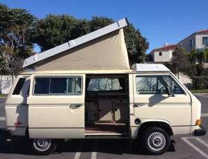 1984 VW Vanagon Westfalia Camper - $7,800 in LA