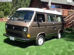 1985 VW Vanagon Westfalia Camper w/ 20k on Rebuilt Engine - $15,500 in Nevada City, CA