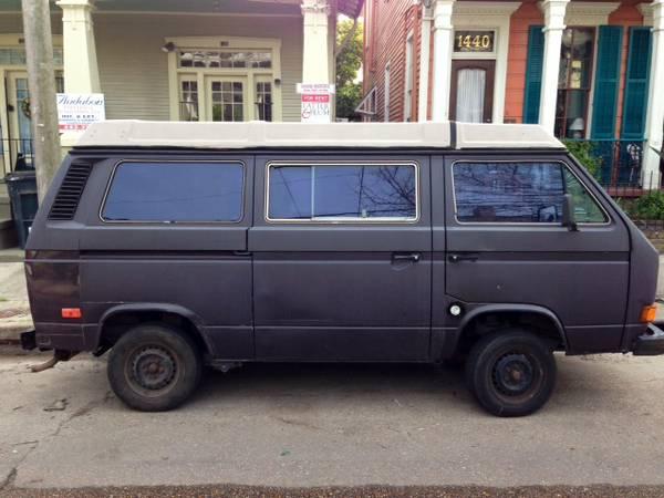 1985 VW Vanagon Westfalia - Only $3,500 in New Orleans, LA