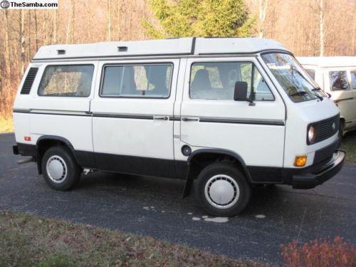 1985 VW Vanagon Westfalia Camper w/ 2.2L Motor - $12k in North Carolina