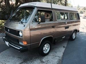 1985 VW Vanagon Westfalia Camper w/ Automatic Transmission $11,500 in San Diego, CA
