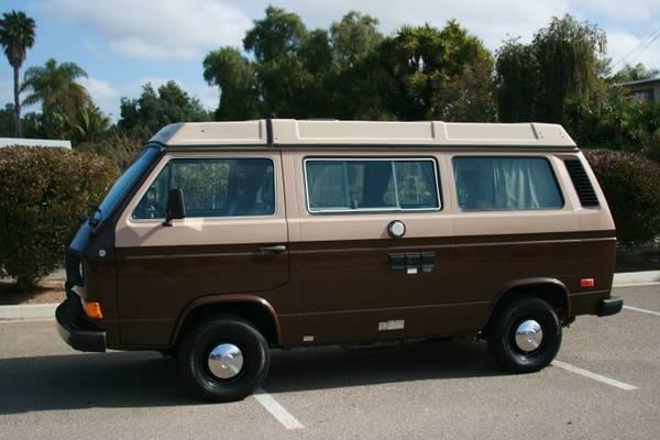 1985 VW Vanagon Westfalia Camper Wolfsburg $14,500 in San Diego, CA
