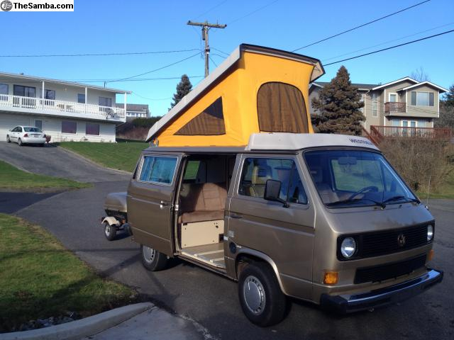 1985 VW Vanagon Westfalia Camper w/ Auto Trans & 120k Miles - $13k in Bellingham, WA