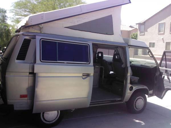 1987 VW Vanagon Westfalia Camper w/ 2.2L Motor & Automatic Transmission for sale in Las Vegas, Nevada for $10,500