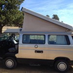 1990 VW Vanagon Westfalia Camper w/ 2.2L GoWesty motor, auto trans & extras. Available in Golden Colorado for $21k