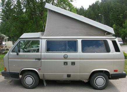 1991 VW Vanagon Westfalia Camper - $12,000 in Golden, BC Canada